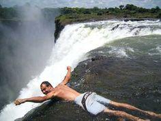 Devil's Pool at Victoria Falls, Zimbabwe