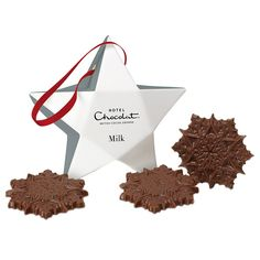 2015 Hanging Christmas Tree Chocolate Box Decorations. For @hotelchocolat