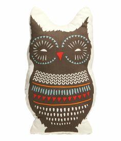 Owl Pillow Case | H&M Home