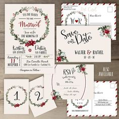 Custom Unique Winter Christmas wedding Invitations All wording is customizable By purchasing this listing you will receive customized printable invitations that you can print anywhere Professional Printing is available. Woodsy Wedding, Lilac Wedding, Wedding Colors, Wedding Bouquets, Our Wedding, Dream Wedding, Wedding Summer, Small Winter Wedding, Wedding Ceremony
