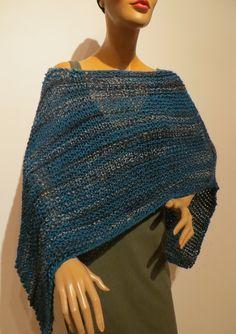 knitting poncho, scarf, handmade Poncho Scarf, Knitting, Handmade, Ponchos, Scarf Crochet, Handarbeit, Breien, Hand Made, Tricot