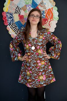Shana Bell Sleeved Tunic sewing pattern (downloadable PDF)