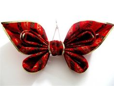 ▶ Moños navideños mariposas alas brillantes - Christmas bows butterflies wings shining, - YouTube