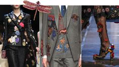 Dolce & Gabbana, Gucci & E. Tautz use patches in their collections for…