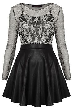 **Strawberry Dress by Motel - Brands at Topshop - Dresses - Clothing Goth Dress, Lolita Dress, Dress Lace, Diesel Punk, Cute Dresses, Vintage Dresses, Cute Outfits, Emo Outfits, Women's Dresses