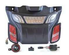 Best high/low beam street legal LED light kit for ALL EZGO RXV golf carts | Very easy installation | Free shipping! | Shop today!
