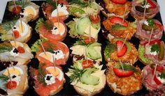 Canapes, Fingerfood & Buffet Velbert & Bochum - Party-Service Spezial