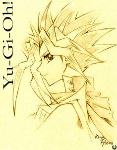 Yugi vs Atem | Yu-Gi-Oh: King Atem by SweetTifa