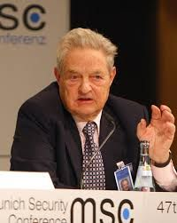G Soros - don't believe the hype, he's an evil misogynist