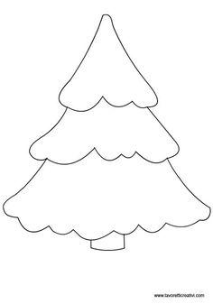 Sagome alberi per lavoretti in sagome lavoretti: Felt Christmas Decorations, Felt Christmas Ornaments, Christmas Colors, Christmas Art, Christmas Projects, Simple Christmas, Christmas Applique, Christmas Sewing, Felt Patterns