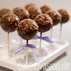 Sacher-Cakepops tolles Veganes Rezept