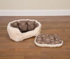 Slumber Pet 18-Inch Polyester Uptown Loungers Dog Bed, Small, Floral « dogsiteworld.com