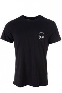 Blood Brother Alien T-Shirt Black