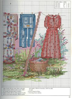 Just Cross Stitch Patterns (p 603.)   Learn Crafts is facilisimo.com