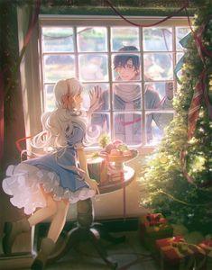 ☆Merry Christmas☆ | Leclle #pixiv https://www.pixiv.net/member_illust.php?illust_id=66444602&mode=medium
