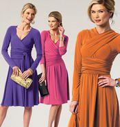 Butterick Sewing Pattern 5783 - Ladies Dress Sizes: XS-S-M Thumbnail 3