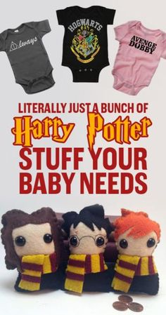 27 Adorable Harry Potter Things Your Baby Needs  It's Gryffindorable. #Fashion #Trusper #Tip