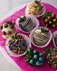 Chocolate-Covered Strawberries - Neiman Marcus