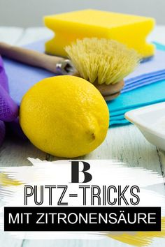 Citric acid: these 6 cleaning tricks will get it clean - Citric acid: these 6 cleaning tricks will get it clean. Citric acid is very versatile. Here are hel - Citric Acid, Tricks, Cleaning Hacks, Mango, About Me Blog, How To Get, Fruit, Food, Diy