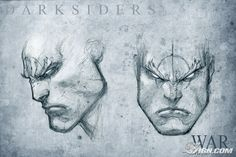 Darksiders - War closeup