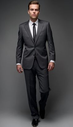 Classy [GUY] club! : Fitted suit, slim tie, square toed shoes... mhmm an outfit just doesn't get much sexier then that
