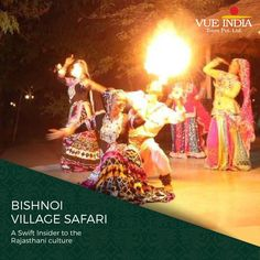 Interact with the culture and history of Rajasthan in Bishnoi Village. Indulge in the joy of rich Indian culture.