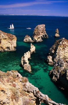 Lagos coastline, Portugal