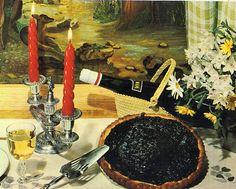 La Tarte aux Myrtilles - une recette vintage
