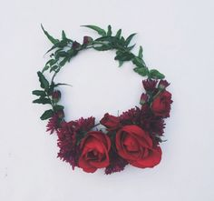 A stunning, one of a kind, #floral crown {Love & Embers}