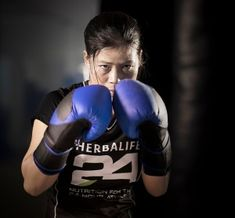Mary Kom: Boxing Champion Ups Her Game with Herbalife Nutrition - Herbalife Spotlight Nutrition Club, Human Nutrition, Herbalife Motivation, Boxing Images, Mary Kom, World Boxing, Boxing Girl, Workout Routines For Women, Boxing Champions