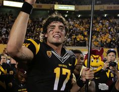 ASU quarterback Brock Osweiler; only good thing bout my bros school ^_^