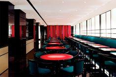 Top Restaurants, Emporio Armani, Conference Room, Table, Furniture, Home Decor, World, Restaurants, Houses