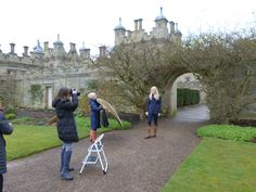 Floors Castle in the Scottish Borders creates the perfect backdrop for our shoot!