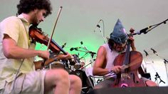 Duncan Wickel and Rushad Eggleston perform at the Cello Wizardry Workshop at the Rhythm & Roots Music Festival on Sunday, Sept. 2, 2012. Visit: http://rhythm...