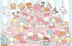 2012 Sanrio Thank You Party at Harmonyland in Japan! 12/07/2012. Free entrance; I think! ^_^