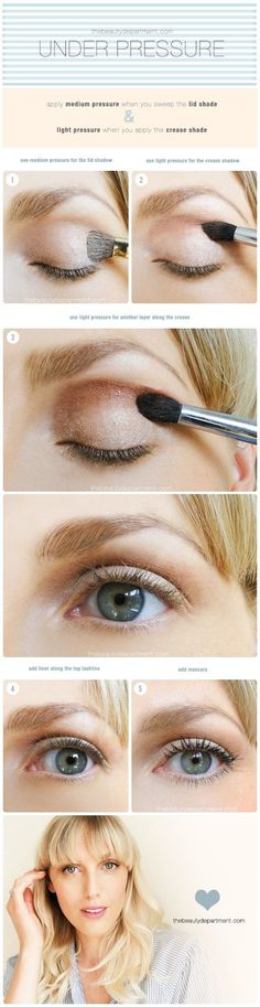Eye Shadow Skills Under Pressure - From The Beauty Department :: @thebeautydept ::   Glamour Shots Photography