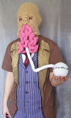 The OOD! That's intense. Those guys have always freaked me out a little.
