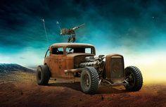 Conheça os carros insanos de 'Mad Max: Estrada da Fúria' [imagens] - TecMundo