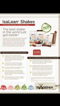 Isagenix is the best healthy living system I have ever tried!!!  To learn more about the amazing products go to kimberlyborges.isagenix.com
