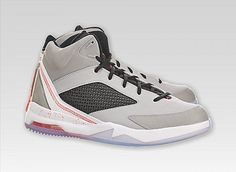 d64e5b6f6f28 Mens Nike Air Jordan Flight Remix Grey Infrared White Basketball Shoes Sz  12