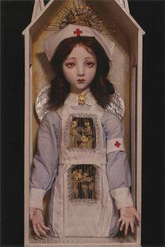 akatako:  from postcard set 6by Mari Shimizu