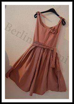 Kleider - festliches Kleid *altrose´* 122/128 bis 134/140 - ein Designerstück von berlinermami bei DaWanda