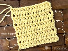 How to Avoid Gaps when Crocheting Edges