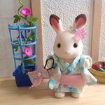 シルバニア女の子の浴衣 Sylvanian Families, Bunny Toys, Disney Dream, House, Rabbit Toys, Home, Homes, Houses