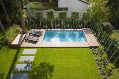Auch wer über wenig Platz verfügt oder auch ein kleines Budget zur Verfügung hat kann mit Pools für kleine Gärten seinen Traum verwirklichen