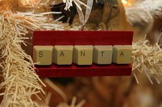 More ornaments made from keyboard keys :) Cool!
