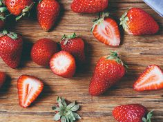 Strawberries by Ashlae | oh, ladycakes, via Flickr