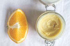 DIY: orange hand cream. too stiff for a hand cream, but makes an absolutely marvelous cuticle cream! a fantastic addition to manicures and nail grooming in general!