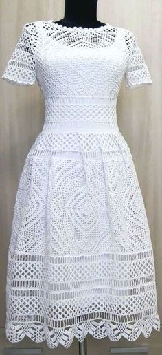 Cinderella Crochet Dress