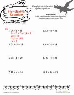 halloween fifth grade algebra functions worksheets easy algebra